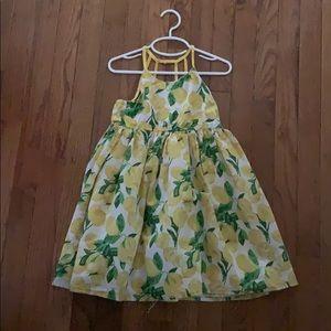 Tommy Bahama lemon summer dress